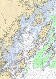 Click For Casco Bay Nautical Chart Casco Bay Maine