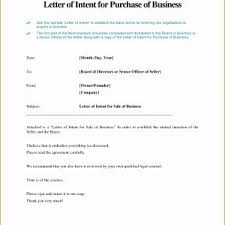 Letter Of Intent Example For Job Valid Letter Intent Template ...