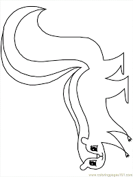 Small Picture Skunks Coloring Page Free Skunk Coloring Pages