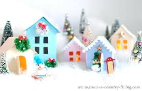 christmas house template printable christmas village talegadayspa com