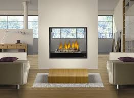 electric two sided fireplace s double with regard to insert