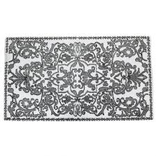 large bath rug black and gold bathroom rugs jcpenney bath rugs