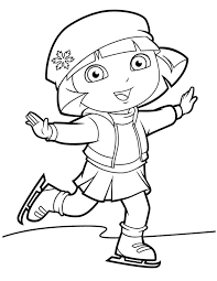 Small Picture Dora Coloring Lots of Dora Coloring Pages and Printables