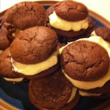 homemade double doozies soft chewy chocolate drops recipe on baker s chocolate box with