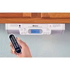 Memorex® Under Cabinet Mount AM / FM / Clock Radio / CD Player ...