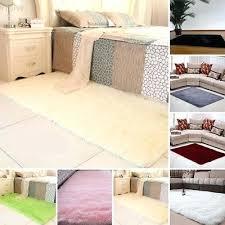 gy fluffy rugs anti skid bedroom rug carpet floor soft mat dining room large big white large rag rug