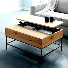 industrial lift top coffee table lift top storage coffee tables industrial storage coffee table west elm