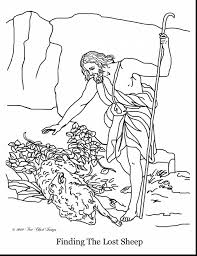 Small Picture superb lost sheep coloring page with prodigal son coloring page