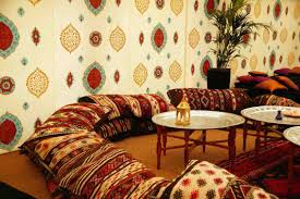 Moroccan Decorating Living Room Interior Moroccan Interior Design Idea For Airy Living Room With