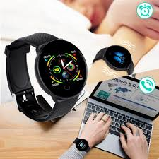 【Support Cod】<b>D19 Smart Watch women</b> Heart Rate Blood ...