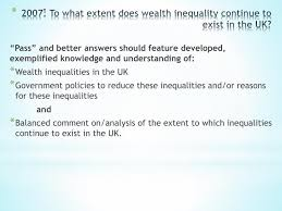 ppt health amp wealth essay powerpoint presentation id  2007 to what extent does wealth inequality continue to