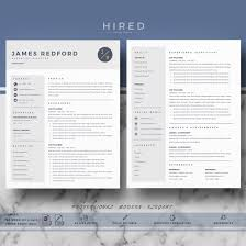 Professional Resume Template For Mac Pages And Word On Behance