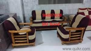 wooden sofa set designs. Brand New Wooden Sofa Set Available At Factory Price - Home Office Furniture Chennai | QuikrGoods Designs