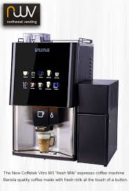 Fresh Milk Coffee Vending Machine Impressive Coffetek Vitro M48 Barista Quality Drinks Made With Fresh Milk