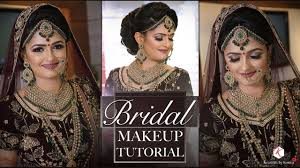 best makeup tutorial for indian bride 2018 latest bridal makeup tutorials krushhh by konica