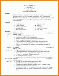 Testing Sample Resumes sample resume software tester Manqalhellenesco 45