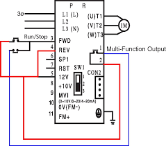 idec relay wiring diagram idec image wiring diagram momentary run stop on teco fm50 on idec relay wiring diagram