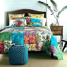 boho duvet covers king size bohemian cotton luxury bedding sets patchwork quilt pattern set queen hippie