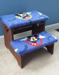 Mickey Mouse Bedroom Furniture Mickey Mouse Step Stool Things Ive Made Pinterest Mice