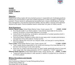 Colorful Us Army Infantry Resume Examples Gallery Examples