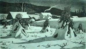 """Kenneth Reeve """"Winter Nocturne"""" 