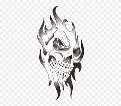 Skull Tattoo Free Download Png Png Image Png Tattoos Transparent