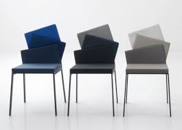 Unique Back Colorful Modern Dining Chair For Minimalist Dining