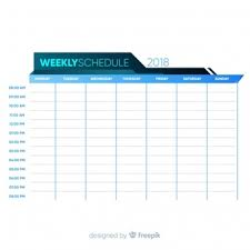 Design Schedule Template Schedule Vectors Photos And Psd Files Free Download