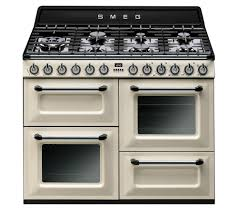 Why Dual Fuel Range Buy Smeg Tr4110p1 Dual Fuel Range Cooker Cream Black Free