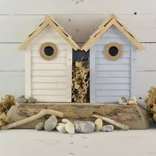 Birdhouse Wooden Pastel Bird House By Ella James Notonthehighstreetcom