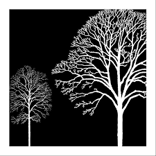 black white and red tree modern wall art oil painting home decor on wall art black and white trees with black white and red tree modern wall art oil painting home decor