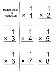 Math Flashcards Udl Strategies