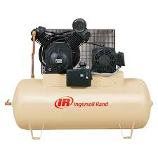 ingersoll rand 15 hp air compressor two stage 50 cfm 120 gallon ingersoll rand 15 hp piston air compressor 120 gallon air tank 7100e15 vp
