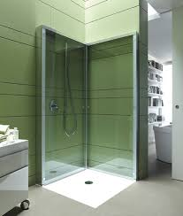 View in gallery Glass steam shower enclosures work well even in small space