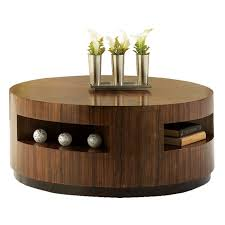 popular of wooden round coffee table top 19 photos round wood coffee table with storage dollwizard