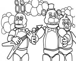 Old Golden Freddy Coloring Pages Made Some Because I Didn At Just