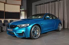 This BMW M4 Individual Atlantis Blue is simply stunning