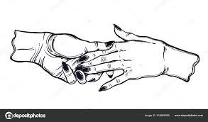 женский пара держатся за руки гей романтики векторное
