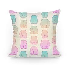 pastel throw pillows. Wonderful Pillows Kawaii Pastel Butt Pattern Pillow To Throw Pillows 4
