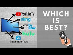 Streaming Tv Comparison Chart Best Live Tv Streaming Services Compare Our Top Picks For