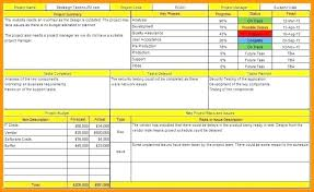 Free Weekly Project Status Report Template Excel Format Daily