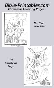 Christmas Bible The Christmas Story Coloring Pages Bible Printables