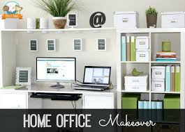 home office makeover. Astonishing Gorgeous Home Office Makeover The Decor Fix Modern Makeovers On A Budget. Style Friend