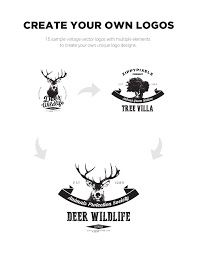 vintage vector logo design kit logo templates on behance click here to vintage vector logo design kit 15 logo templates