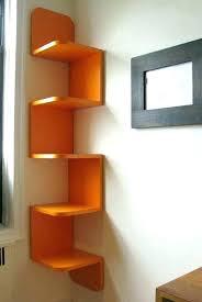 lovely corner shelf unit modern corner shelf