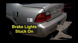 1997 Nissan Maxima Brake Lights Stay On Brake Lights On All The Time Will Not Go Out Votd