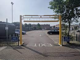 Height Restriction Barriers Design Car Park Height Restriction Barriers Stratford Crane