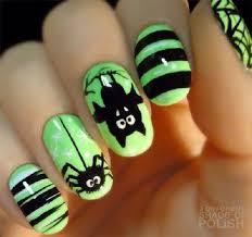 Green And Black Design 55 Green Nail Art Designs Nenuno Creative
