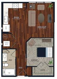 Denver Colorado Apartments Centric LoHi Floorplan Browser - Three bedroom apartments denver