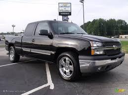 2005 Black Chevrolet Silverado 1500 LT Extended Cab #35552328 ...